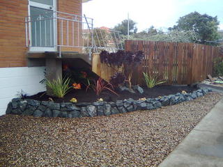 Rock Garden and Planting